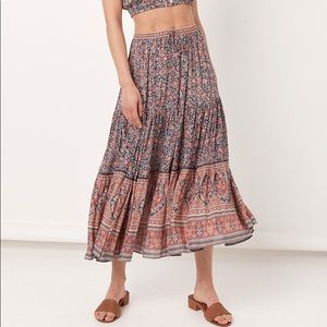 Spell and the Gypsy Jasmine Maxi Skirt